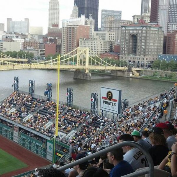 Clemente Bridge from the cheap seats