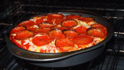 Another deep dish pepperoni